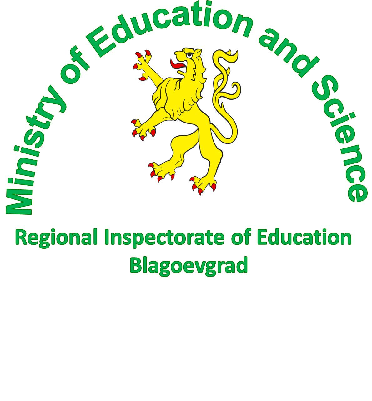 The Regional Inspectorate of Education (RIE), Bulgaria's logo